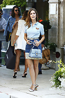 VENICE, ITALY - September 2nd: Clara Alonso arrives at Darsena Excelsior during 74th Venice Film Festival at Excelsior Hotel on September 2nd, 2017 in Venice, Italy. (Mark Cape/insidefoto)
