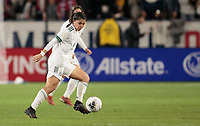 CARSON, CA - FEBRUARY 7: Kiana Palacios #8 of Mexico dribbles the ball during a game between Mexico and USWNT at Dignity Health Sports Park on February 7, 2020 in Carson, California.