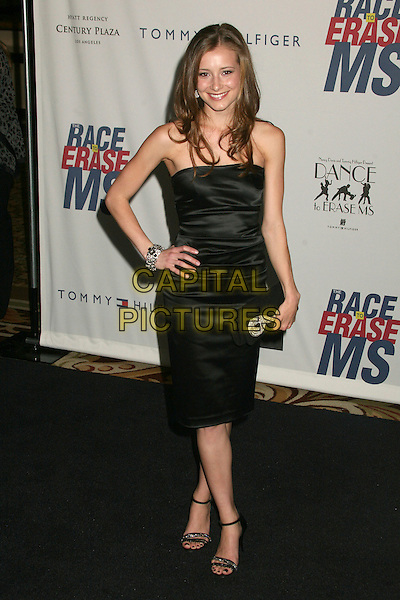 """CANDACE BAILEY .14th Annual Race to Erase MS Themed """"Dance to Erase MS"""" at the Century Plaza Hotel, Century City, California, USA, 13 April 2007..full length strapless black dress hand on hip.CAP/ADM/BP.©Byron Purvis/AdMedia/Capital Pictures."""