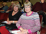 Sheila Smyth and Josephine Brennan pictured at the classical concert in the Bohemian Centre Ardee.