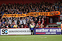 Destiny banner. - Stevenage v Bury - npower League 1 - Lamex Stadium, Stevenage  - 5th May, 2012. © Kevin Coleman 2012