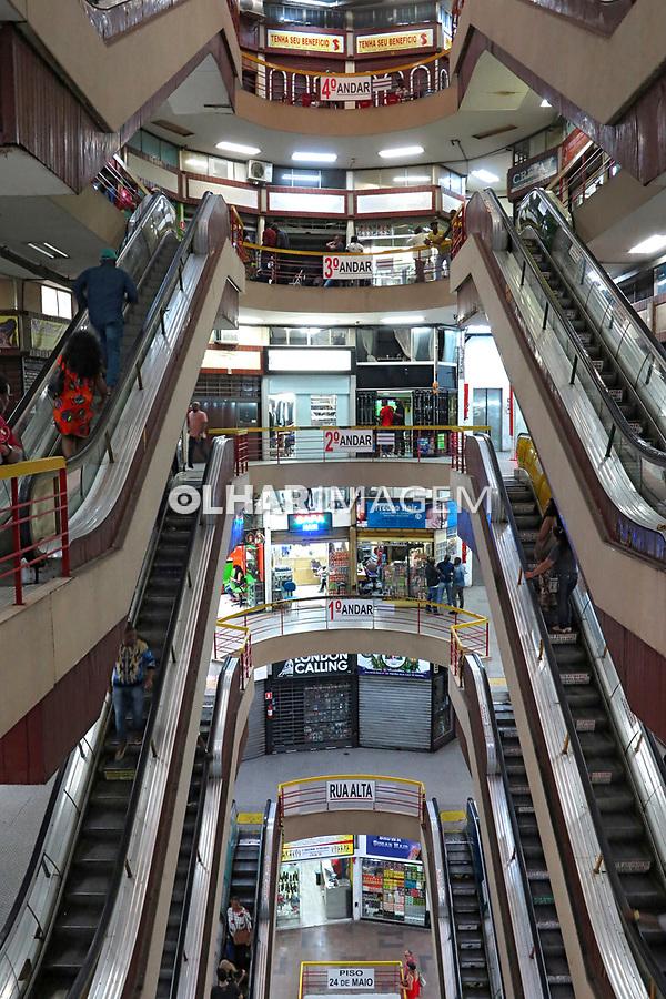 Centro Comercial Presidente e Galeria Presidente tambem ou Galeria do Reggae. Sao Paulo.2017. Foto de Marcia Minillo.