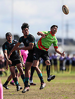 Southern Cross Campus v Aorere College. Secondary Schools Rugby League Nationals, Bruce Pulman Park, Papakura, Auckland, New Zealand. Tuesday 5 September. Photo: Simon Watts/www.bwmedia.co.nz