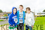 Thomas Moriarty Rauri Byrnes and Barry Hamilton   at the CBS The Green Fun Run on Sunday afternoon