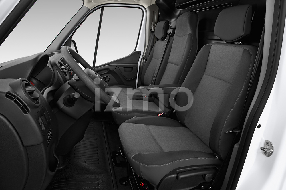 Front seat view of a 2019 Renault Master-Z.E. Base 4 Door Cargo Van front seat car photos