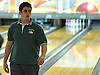 Chris Vietri of Holy Trinity High School rolls a strike during the Nassau-Suffolk CHSAA boys' bowling individual championship at AMF Babylon Lanes on Thursday, Feb. 11, 2016. He won the league title with a 751 three game series and had a high game of 289.