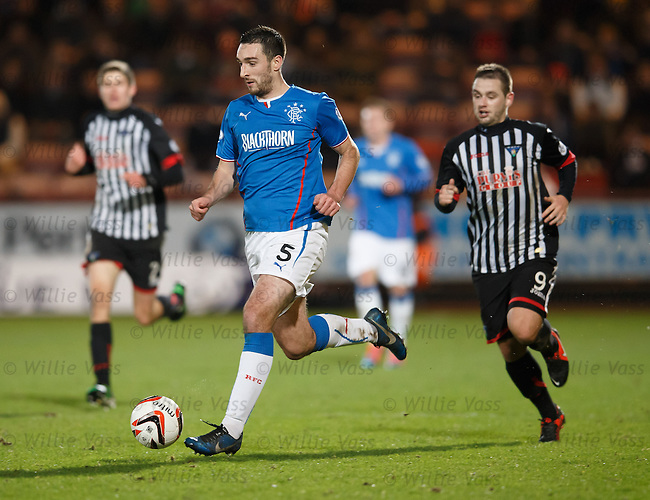 Lee Wallace attacking on the wing