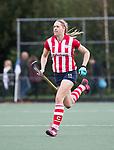 AMSTELVEEN - Pien van Nes (HDM)  .Hoofdklasse competitie dames, Hurley-HDM (2-0)FOTO KOEN SUYK
