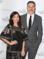 David Walliams and Natlaie Imbruglia at The George Michael Collection - VIP private view and reception at Christies, St James, London on March 12th 2019<br /> CAP/ROS<br /> &copy;ROS/Capital Pictures