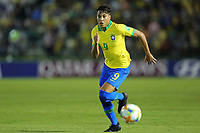 29th October 2019; Bezerrao Stadium, Brasilia, Distrito Federal, Brazil; FIFA U-17 World Cup Brazil 2019, Brazil versus New Zealand; Kaio Jorge of Brazil