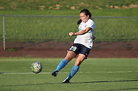 Piscataway, NJ - Saturday July 23, 2016: Catherine Zimmerman prior to a regular season National Women's Soccer League (NWSL) match between Sky Blue FC and the Washington Spirit at Yurcak Field.