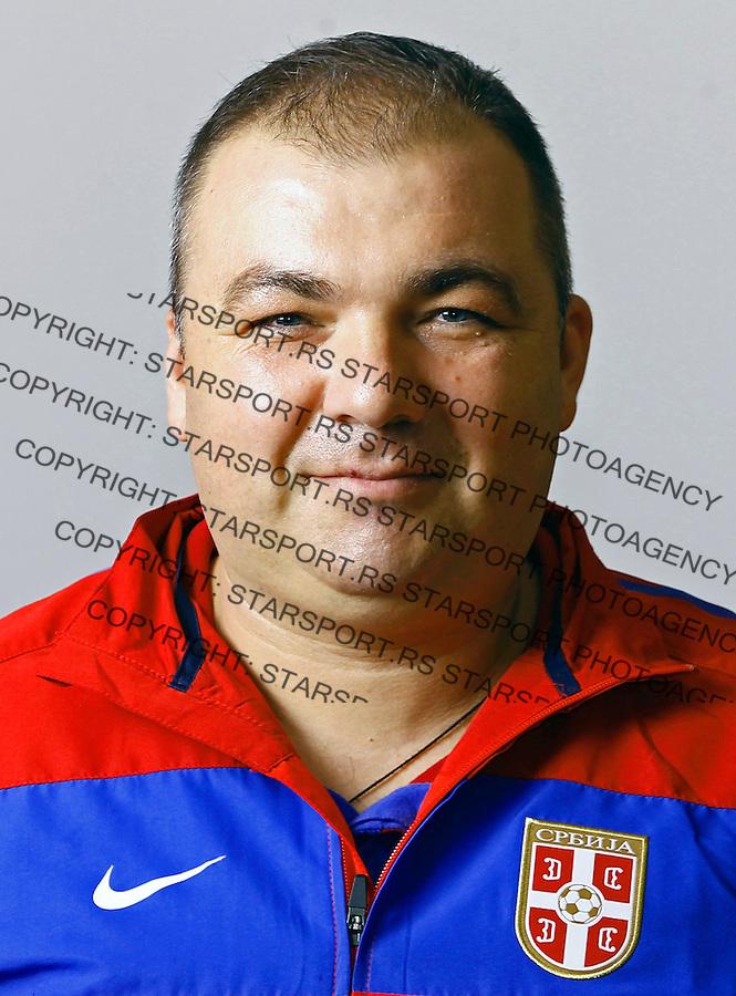 Viktor Vujosevic U19, under 19, Serbian national u19 footbal team, reprezentacija Srbije 7.10.2013. (credit: Pedja Milosavljevic  / thepedja@gmail.com / +381641260959)