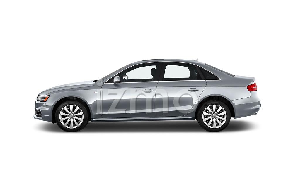 Car driver side profile view of a 2015-2016 Audi A4 Premium 4 Door Sedan