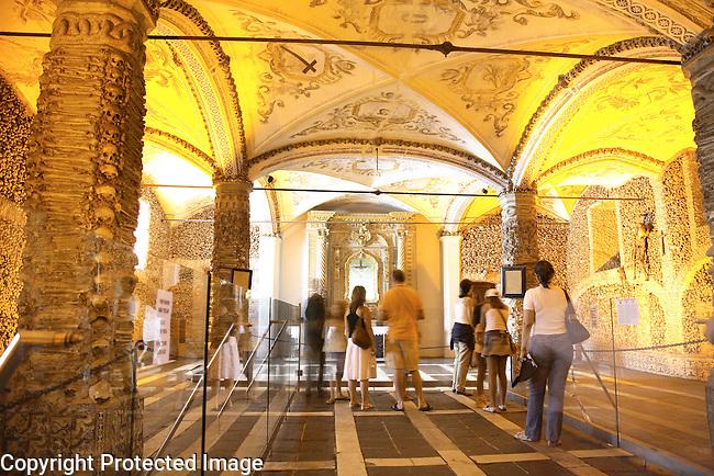 Capela dos Ossos (Chapel of the Bones), San Francisco Church, Evora, Alto Alentejo, Portugal