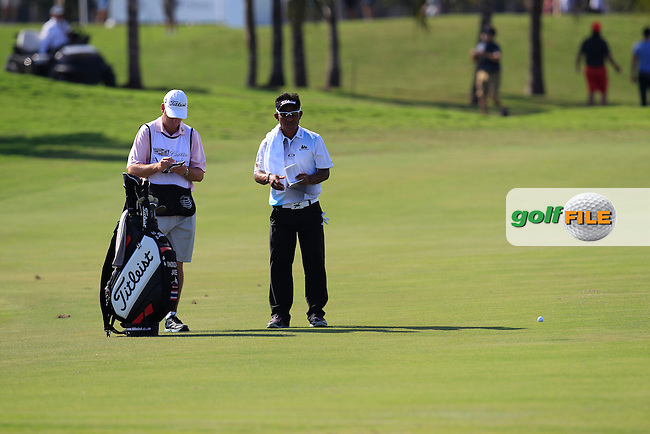 Thongchai Jaidee (THA) during the 2nd round at the WGC Cadillac Championship, Blue Monster, Trump National Doral, Doral, Florida, USA<br /> Picture: Fran Caffrey / Golffile