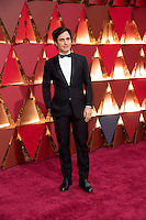 www.acepixs.com<br /> <br /> February 26 2017, Hollywood CA<br /> <br /> Gael Garcia Bernal arriving at the 89th Annual Academy Awards at Hollywood &amp; Highland Center on February 26, 2017 in Hollywood, California.<br /> <br /> By Line: Z17/ACE Pictures<br /> <br /> <br /> ACE Pictures Inc<br /> Tel: 6467670430<br /> Email: info@acepixs.com<br /> www.acepixs.com