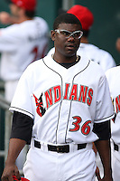 June 2, 2007:  Franquelis Osoria of the Indianapolis Indians at Victory Field in Indianapolis, IN.  Photo by:  Chris Proctor/Four Seam Images