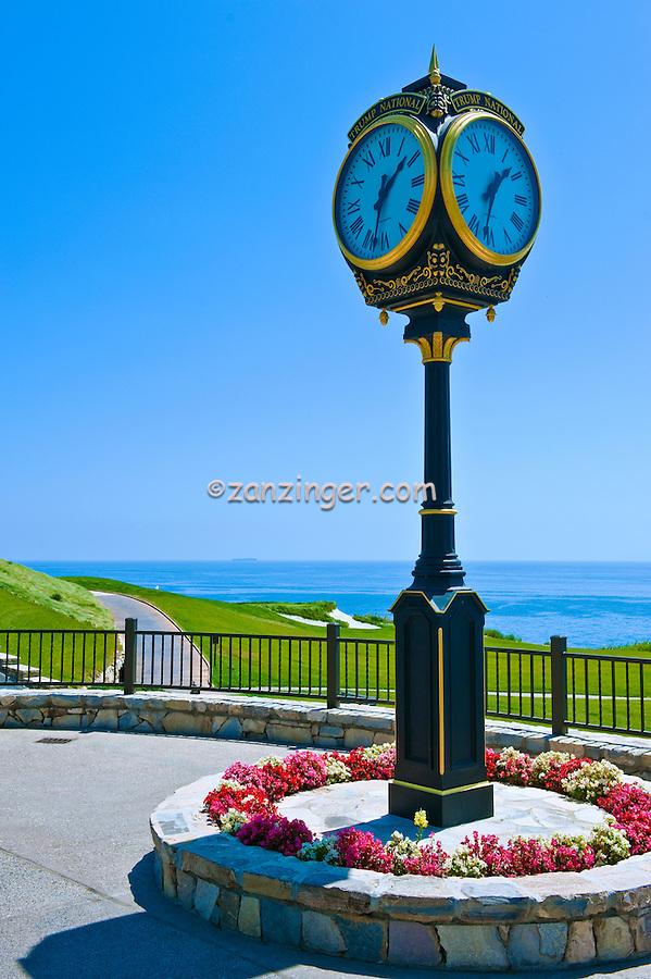 Rancho Palos Verdes, CA, Trump National Golf Course, Clock, Palos Verdes, Peninsula, Trump National Golf Club,