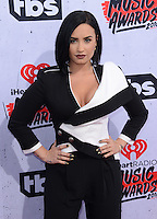 Demi Lovato @ the 2016 iHeart Radio Music awards held @ the Forum.<br /> April 3, 2016