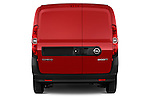 Straight rear view of a 2015 Opel COMBO LiHI 4 Door Cargo Van 2WD Rear View  stock images