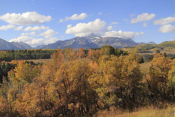 Wilson Peak in the San Juan Mountains near Telluride, Colorado, USA.