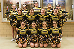 January 10, 2018- Tuscola, IL- The 2017-2018 Tuscola Warrior Cheerleaders. Back row from left are Julia Kerkhoff, Kim Summerville, Meadow Picazo, Kenzi Heckler, and Brianna Thull. Middle row from left are Bryona Lee, Jenny Knight, Ashtyn Clark, and Kaylee Rexroad-Campbell. Front row from left are Samantha Simpson, Ava Cothron, Chloe Lee, and Jessie Martin. (Not pictured: Hannah Saril and Kendra Revell) [Photo: Douglas Cottle]
