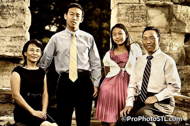 Li family portraits
