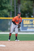 Baltimore Orioles Tyler Coolbaugh (67) during a Minor League Spring Training game against the Boston Red Sox on March 20, 2018 at Buck O'Neil Complex in Sarasota, Florida.  (Mike Janes/Four Seam Images)