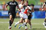 Teruya Goto (JPN), <br /> AUGUST 9, 2016 - / Rugby Sevens : <br /> Men's Pool Round <br /> between New Zeland 12-14 Japan <br /> at Deodoro Stadium <br /> during the Rio 2016 Olympic Games in Rio de Janeiro, Brazil. <br /> (Photo by Yusuke Nakanishi/AFLO SPORT)