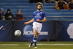 09 December 2011: Creighton's Andrew Duran. The Creighton University Bluejays played the University of North Carolina Charlotte 49ers to a 0-0 overtime tie, the 49ers won the penalty shootout 4-1 to advance at Regions Park in Hoover, Alabama in an NCAA Division I Men's Soccer College Cup semifinal game.