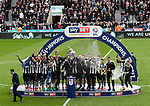 Newcastle United winning the EFL Championship during the EFL Championship match at St James' Park Stadium, Newcastle upon Tyne. Picture date: May 7th, 2017. Pic credit should read: Jamie Tyerman/Sportimage