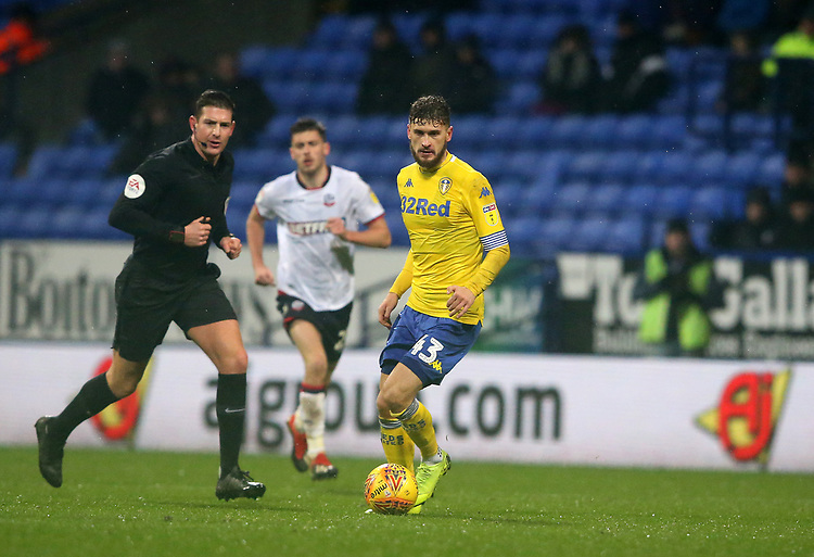 Leeds United's Mateusz Klich<br /> <br /> Photographer Stephen White/CameraSport<br /> <br /> The EFL Sky Bet Championship - Bolton Wanderers v Leeds United - Saturday 15th December 2018 - University of Bolton Stadium - Bolton<br /> <br /> World Copyright © 2018 CameraSport. All rights reserved. 43 Linden Ave. Countesthorpe. Leicester. England. LE8 5PG - Tel: +44 (0) 116 277 4147 - admin@camerasport.com - www.camerasport.com