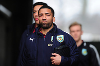 Burnley's Aaron Lennon arrives at the liberty stadium <br /> <br /> Photographer Ashley Crowden/CameraSport<br /> <br /> The Premier League - Swansea City v Burnley - Saturday 10th February 2018 - Liberty Stadium - Swansea<br /> <br /> World Copyright &copy; 2018 CameraSport. All rights reserved. 43 Linden Ave. Countesthorpe. Leicester. England. LE8 5PG - Tel: +44 (0) 116 277 4147 - admin@camerasport.com - www.camerasport.com