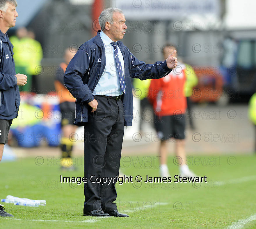 10/10/2009  Copyright  Pic : James Stewart.sct_jspa15_dundee_v_partick  . :: DUNDEE MANAGER JOCKY SCOTT DURING THE PARTICK GAME :: .James Stewart Photography 19 Carronlea Drive, Falkirk. FK2 8DN      Vat Reg No. 607 6932 25.Telephone      : +44 (0)1324 570291 .Mobile              : +44 (0)7721 416997.E-mail  :  jim@jspa.co.uk.If you require further information then contact Jim Stewart on any of the numbers above.........