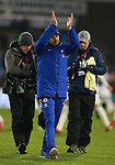 Antonio Conte manager of Chelsea celebrates the win during the premier league match at the John Smith's Stadium, Huddersfield. Picture date 12th December 2017. Picture credit should read: Simon Bellis/Sportimage