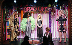 LaToya Fruitpunch, Grenadine Ross, Sister Mary Helen, Brianna Andrews and Sweetie during a performance of 'Ultimate Drag Off', the zaniest, live theatrical interactive game-show where audience members vote and crown the next drag superstar, at Triad Theatre on October 2, 2015 in New York City.