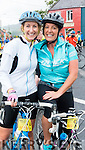 Francis Clifford and Carol Benner Tralee, Cyclists at the Ring of Kerry Charity Cycle on Saturday.