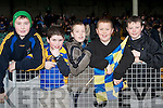 SUPPORT: Supporting Spa in the AIB GAA Football All-Ireland Intermediate Club Championship semi-final at the Gaelic Grounds in Limerick on Sunday l-r: Aidan Kelly, Ciaran Sheehan, Jack O'Donoghue, Sean Magee and Eoghan Cronin.