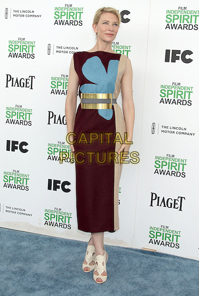 1 March 2014 - Santa Monica, California - Cate Blanchett. 2014 Film Independent Spirit Awards held at Santa Monica Beach. <br /> CAP/ADM/RE<br /> &copy;Russ Elliot/AdMedia/Capital Pictures