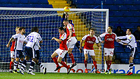 Fleetwood Town's Paul Jones makes a save in the first half<br /> <br /> Photographer Alex Dodd/CameraSport<br /> <br /> The EFL Checkatrade Trophy Group B - Bury v Fleetwood Town - Tuesday 13th November 2018 - Gigg Lane - Bury<br />  <br /> World Copyright &copy; 2018 CameraSport. All rights reserved. 43 Linden Ave. Countesthorpe. Leicester. England. LE8 5PG - Tel: +44 (0) 116 277 4147 - admin@camerasport.com - www.camerasport.com