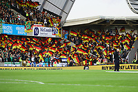Deutsche Fankurve - 09.09.2019: Nordirland vs. Deutschland, Windsor Park Belfast, EM-Qualifikation DISCLAIMER: DFB regulations prohibit any use of photographs as image sequences and/or quasi-video.