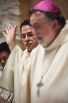Solemn Mass of Dedication of the new St. Katharine Drexel Catholic Church, Martell, Calif...Most Reverend Jaime Soto, Bishop of Sacramento