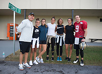 USWNT Saints and Pelicans visit, October 18, 2017