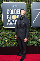 Actor Joseph Fiennes attends the 75th Annual Golden Globes Awards at the Beverly Hilton in Beverly Hills, CA on Sunday, January 7, 2018.<br /> *Editorial Use Only*<br /> CAP/PLF/HFPA<br /> &copy;HFPA/Capital Pictures