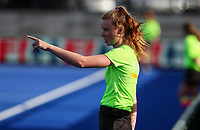 Ball Girl. Pro League Hockey, Vantage Blacksticks Women v China. Nga Puna Wai Hockey Stadium, Christchurch, New Zealand. Sunday 17th February 2019. Photo: Simon Watts/Hockey NZ