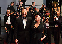 Joaquin Phoenix &amp; Lynne Ramsay at the premiere of 'You Were Never Really Here' at the 70th Festival de Cannes.<br /> May 27, 2017  Cannes, France<br /> Picture: Kristina Afanasyeva / Featureflash