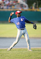 July 28th 2007:  Jermaine Curtis during the Cape Cod League All-Star Game at Spillane Field in Wareham, MA.  Photo by Mike Janes/Four Seam Images
