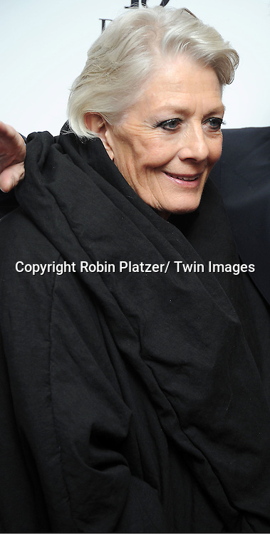 """Vanessa Redgrave arrives for the New York Premiere of """"Coriolanus"""" on January 17, 2012 at The Paris Theatre in New York City. The movie stars Vanessa Redgrave, Ralph Fiennes and Jessica Chastain."""