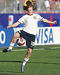11 July 2007: USA's Dax McCarty, pregame. The Under-20 Men's National Team of the United States defeated Uruguay's Under-20 Men's National Team 2-1 after extra time in a  round of 16 match at the National Soccer Stadium (also known as BMO Field) in Toronto, Ontario, Canada during the FIFA U-20 World Cup Canada 2007 tournament.