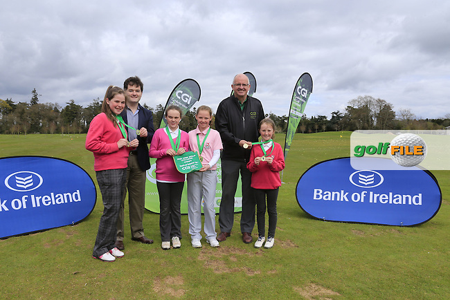 regional Finalists hone their skills at the national finals of the Dubai Duty Free Irish Open Skills Challenge supported by Bank of Ireland at the GUI National Golf Academy, Carton House, Maynooth, Co Kildare. 24/04/2016.<br /> Picture: Golffile | Fran Caffrey<br /> <br /> <br /> All photo usage must carry mandatory copyright credit (&copy; Golffile | Fran Caffrey)